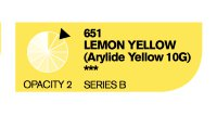 Акрил Cryla LEMON YELLOW №651