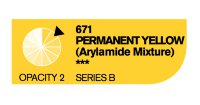 Акрил Cryla PERMANENT YELLOW ARYL №671