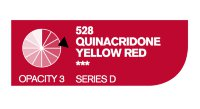Акрил Cryla QUINACRIDONE YELLOW RED №528